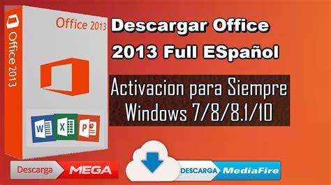 Descargar Office 2013 Full Español Gratis 32 & 64 Bits ...