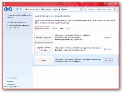 Descargar Paquetes de idiomas para Windows 8 x64   x86 ...