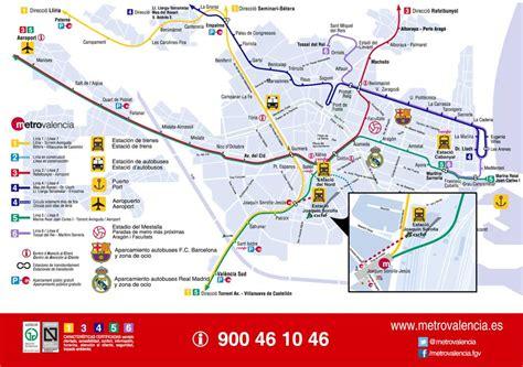 Descargar Plano Metro Valencia