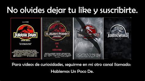 Descargar Saga Completa De Jurassic Park  Latino Por MEGA ...