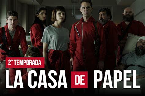 Descargar serie  LA CASA DE PAPEL : Todas las temporadas