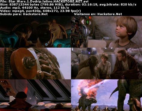 Descargar Star Wars 1  1999  Dvdrip Latino   Hackstore