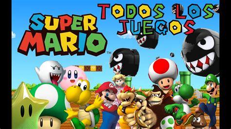 Descargar todos los juegos de Mario Bros   MEGA   Gratis ...