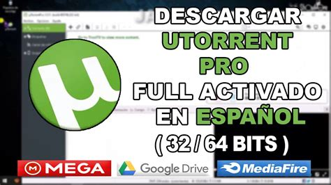 DESCARGAR UTORRENT PRO 2020 PARA PC FULL EN ESPAÑOL ULTIMA ...