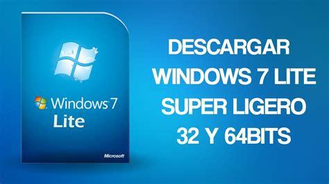Descargar Windows 7 Lite ISO | 32 y 64Bits | + Bootearlo ...