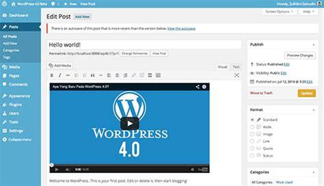 Descargar Wordpress 4.0 ¿Qué hay de nuevo?