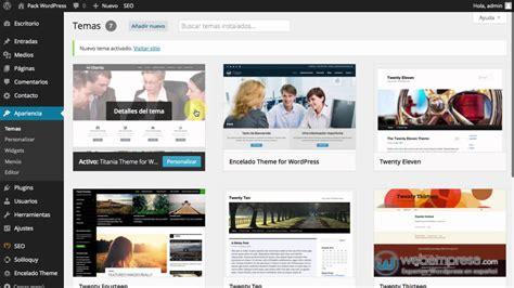 Descargar WordPress Español y con Plantilla Gratis ...