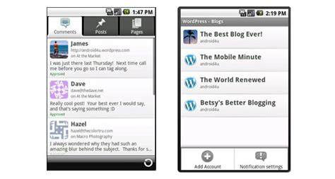 Descargar WordPress para Android Gratis   pc escritorio
