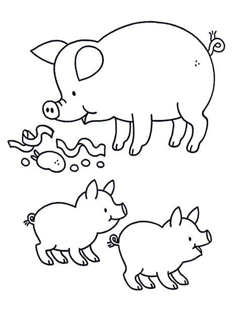 Descargue e imprima gratis dibujos para colorear – granja