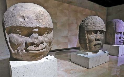Descartan origen africano de las cabezas olmecas