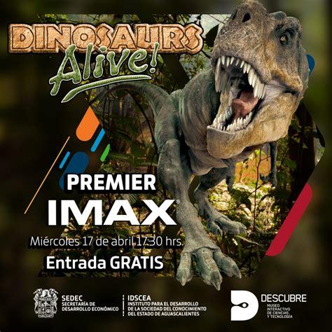 """Descubre presenta su nueva película IMAX: """"Dinosaurios ..."""