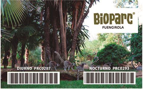 Descuento Bioparc de Fuengirola