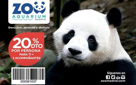 Descuento en el Zoo de Madrid