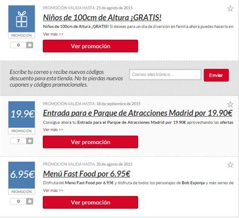 Descuentos Parque de Atracciones Madrid   55%   Mayo 2017 ...