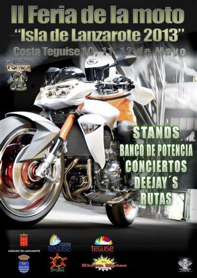 Desde mañana, II Feria de la Moto Isla de Lanzarote ...