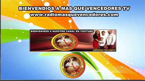 DESDE MIAMI FL RADIO MAS QUE VENCEDORES TV   YouTube