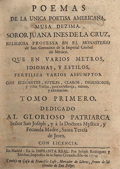 DESDELAVEGARD/Ub Solis: Sor Juana Inés de La Cruz  1651 1695