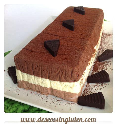 Deseos Sin Gluten: TARTA MOUSSE DE TRES CHOCOLATES SIN GLUTEN