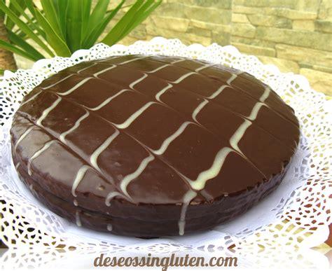 Deseos Sin Gluten: TARTA TODO CHOCOLATE SIN GLUTEN