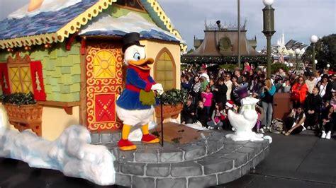 Desfile de Navidad en Disney   Christmas Parade Disney ...
