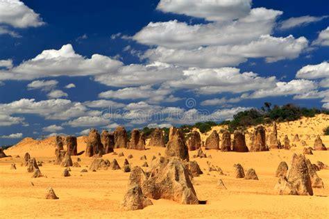 Desierto De Los Pináculos, Australia Occidental Foto de ...