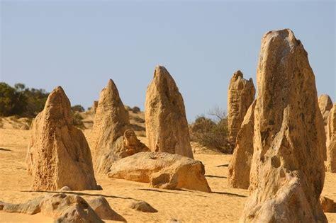 Desierto de los pináculos en Parque Nacional Nambung ...
