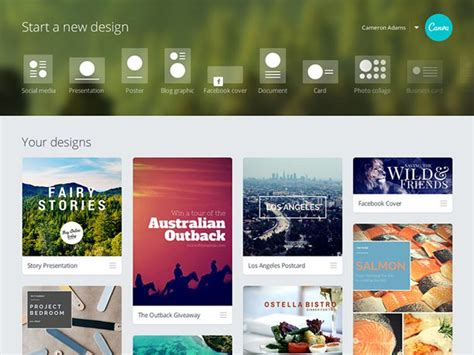 Design at your fingertips   About Canva