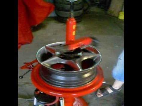 Desmontadora de pneus manual   YouTube