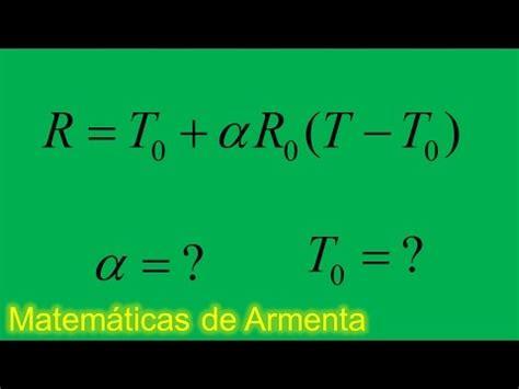 despeje de incognitas de formulas ejemplo 19 resistencia ...