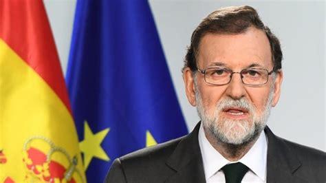Destituyeron a Mariano Rajoy como presidente de España ...