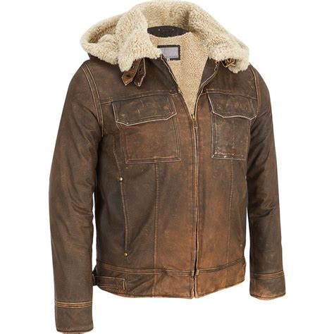 Details about Men s Big & Tall Wilsons Vintage Leather ...