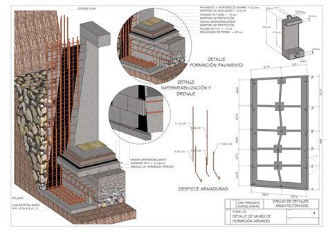 Detalles Constructivos en 3D: DETALLE DE MURO