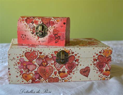 Detalles de Rosi: Cajas decoradas