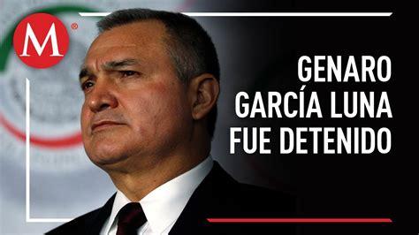 Detienen a Genaro García Luna en EU   YouTube