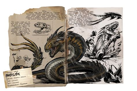 Deutsches Dino Dossier: Basilisk   ARK: Survival Evolved