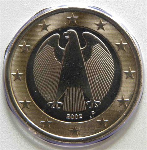 Deutschland 1 Euro Münze 2002 D   euro muenzen.tv   Der ...