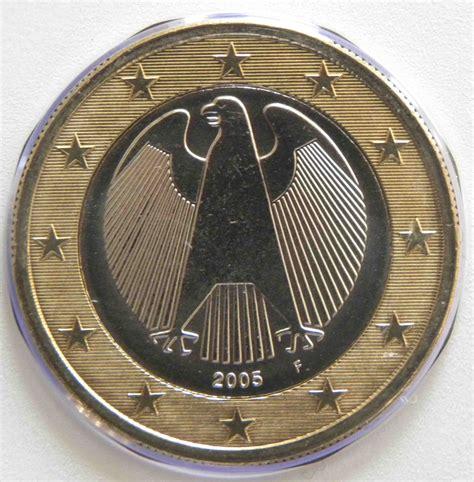 Deutschland 1 Euro Münze 2005 F   euro muenzen.tv   Der ...