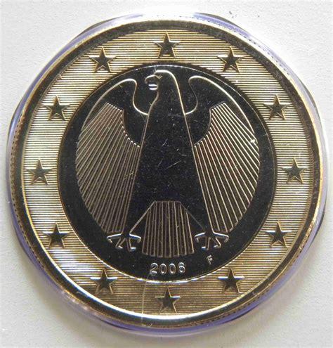 Deutschland 1 Euro Münze 2006 F   euro muenzen.tv   Der ...