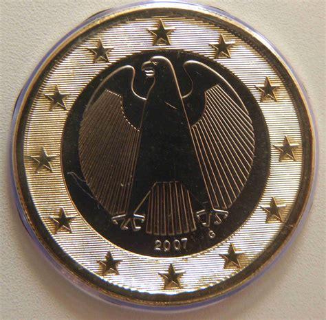 Deutschland 1 Euro Münze 2007 G   euro muenzen.tv   Der ...