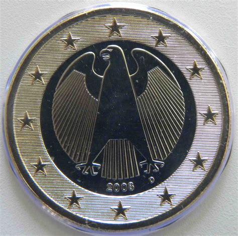 Deutschland 1 Euro Münze 2008 D   euro muenzen.tv   Der ...