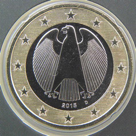 Deutschland 1 Euro Münze 2015 D   euro muenzen.tv   Der ...