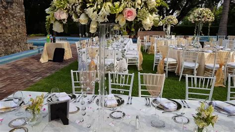 DF Decoracion para boda en jardin   YouTube