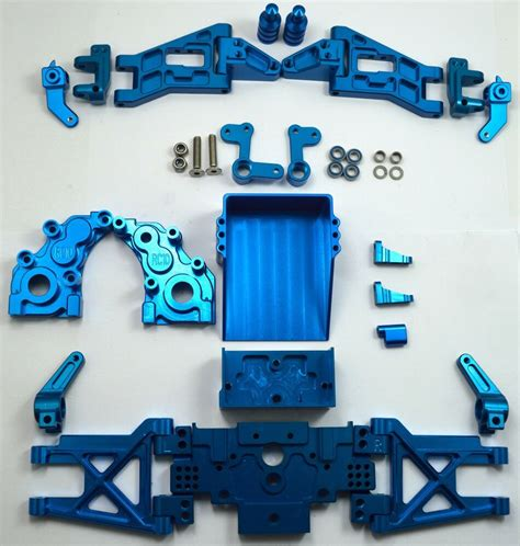 Dhawk Racing Aluminum Conversion Kit Blue For Team ...