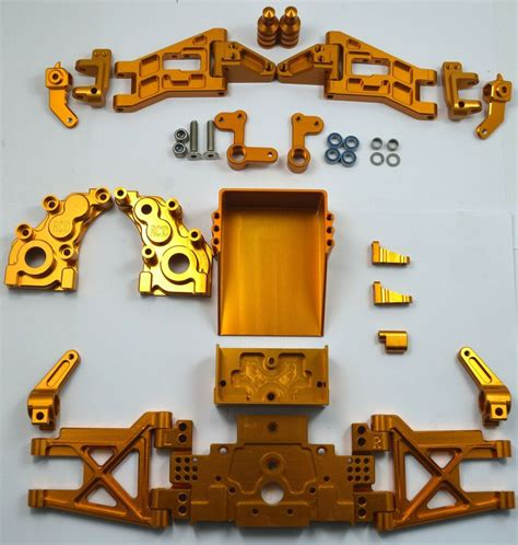 Dhawk Racing Aluminum Conversion Kit Gold For Team ...