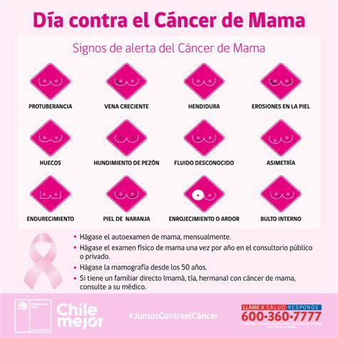 Día contra el cáncer mama   Ministerio de Salud   Gobierno ...