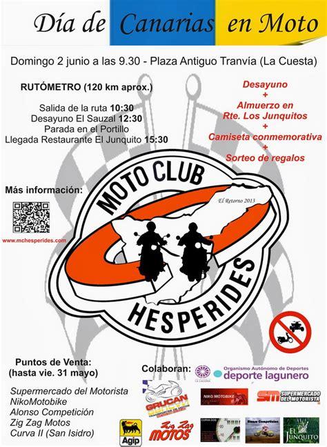 Día de Canarias, en Moto, con el MC Hespérides ...