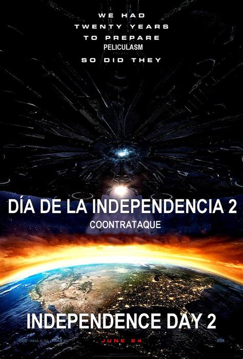 Dia de la independencia 2 Latino DVDRIP Independence Day ...