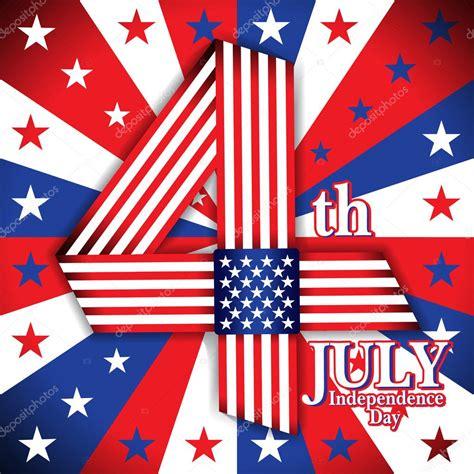 Día de la independencia. Estados Unidos de América. 4 de ...