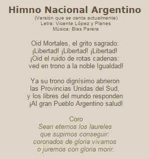 Día del Himno Nacional Argentino | Está Bueno | Teaching ...