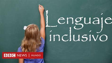 Día del idioma español: ¿usas un lenguaje inclusivo?   BBC ...